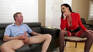 Mature Mommy Pornstar Texas Patti Gets Her Asshole Drilled