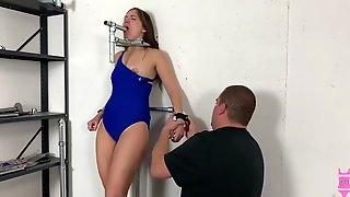 Lt17 Swimsuit Bondage Rachel Adams Metal Bondage