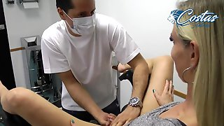 Doctor Fucked A Milf Patient At His Medical Office