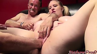 Bridget Fun Bags French Supersized Big Beautiful Woman With 2 Old Man - Straight
