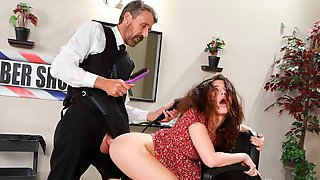 Stunning Big-bottomed Hottie Jane Wilde Likes Hardcore Sex With An Older Man