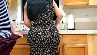 Stepmom Fuck In The Kitchen