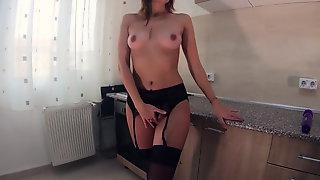 Schwarze Dessous Zu Intensivem Orgasmus!