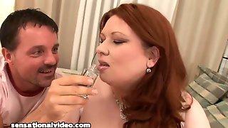 Anne Marie BBW Redhead Babe Porn Video