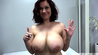 Mommy With Big Round Natural Honker - Amateur Sex