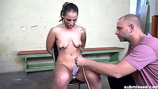 Full BDSM Maledom For The Bitch With The Saggy Tits
