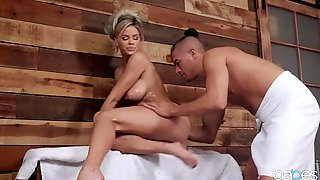 Big Boobs Pornstar Jessa Rhodes Gets Horny For Sex In The Sauna