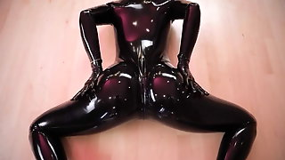Latex Fetish Yoga
