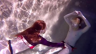 Sensual Underwater Sex With Odette Delacroix And Pepper Kester