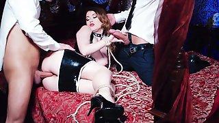 Dikny Double Penetration Threesome With Hot Maid Misha Cross
