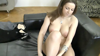 Young Business Manager Nicole Sweet Tries Porn