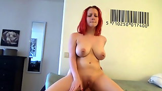 Big Boobed Redhead Fucked Intensely To Orgasm