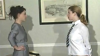 Lesbian Headmistress And Her Fun PT Two