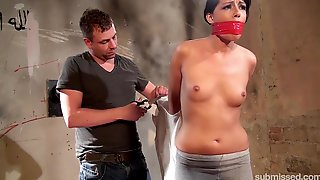 Samantha Joons Tied With A Duck Tape And Kept In The Basement