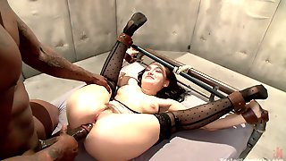 Gabriella Paltrova Spreads Her Legs For Strong Pecker While She Screams