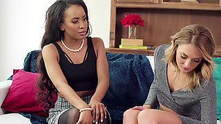 Charlotte Sins And Demi Sutra Make A Trap For Cheating Husband