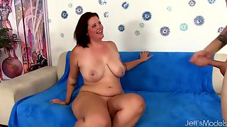 Chubby Hottie Amanda Foxx Blowjob Compilation Part 1
