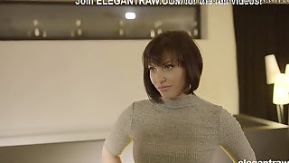 Crazy Secretary Knows Anal Screwing Can Win Her Manager Over