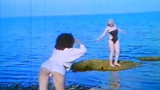 Classic Greek Vintage Fuck The Island Tourists Sluts Film