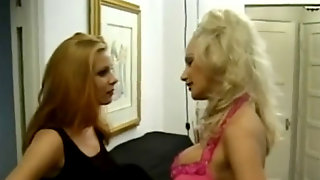 Big-chested Blondes Catfight