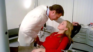 Youthfull Blond First Time Fuck-a-thon On Dentist Divan