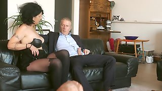 Old German Slut Knows How To Make A Dick Rise And She Is So Insatiable