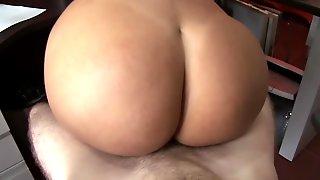 Latina Goddess With Big Ass Loves Sucking And Riding Hard Dick