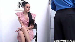 MILF Gia Submit Herself To Officer Brock