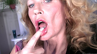 Skinny Sexy Granny Erotic Video