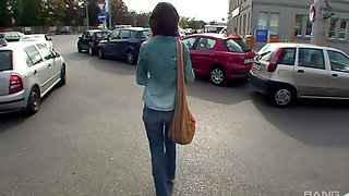 Crazy Outdoor Fucking On The Streets With Czech Nikola Jiraskova