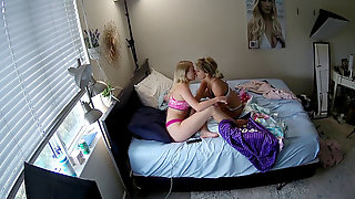 Hidden Cam Cam Picks Up Roommates Toying With Their Magic Wand