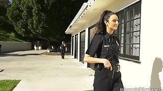 Police Officer Eliza Ibarra Gangbanged By A Group Of Dudes