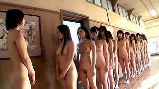 Naked Asian Teens - Crazy Group Porn Video