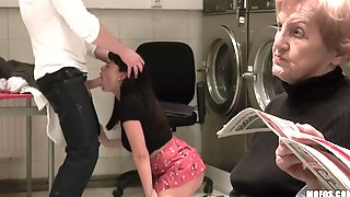 Granny Loves Watching Her Niece Getting Pounded
