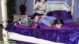 Amateur Teen Girl Bondage Fetish Clip