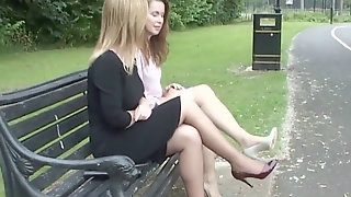 Softcore High Heel Nymphs Tease Feet Legs Fetish In High-heeled Shoes