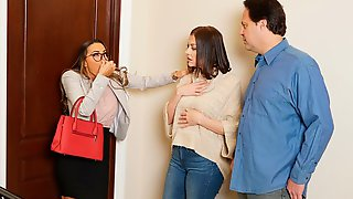 Playful Busty Mademoiselle Abigail Mac Cheats On Her Hubby