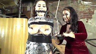 Femdom Movie With To Busty Brunettes - Bondage And Punishment
