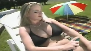 Best Blowjob From Horny Babe In Sexy Bikini