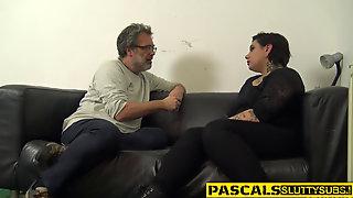Food Fetish Whore Gets Railed
