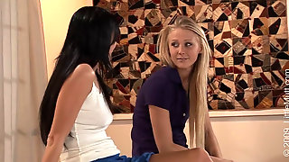 Aliz And Kelli Stone - Play Doctor With Me