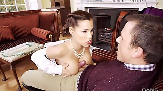 Classy Wife Satin Bloom With The Perfect Set Of Tits Fucked Good