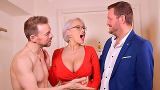 Cheating Hotties Sofia Lee And Angel Wicky Fuck With Two Cocks