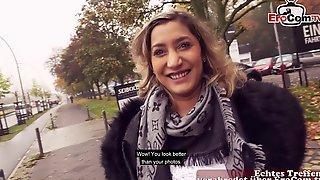 German Arab Bitch Danka Biamond Street Pick Up