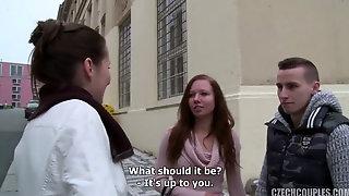 Super-cute University Schoolgirl Needs Money