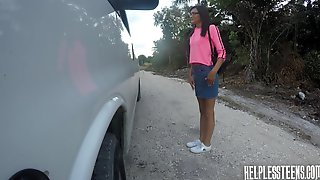 Brutal Stud Picks Eden Sin Up And Fucks The Shit Out Of Her In His Van