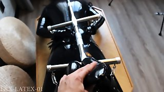Horny CD In Latex Solo