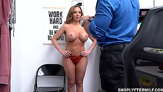 MILF Suspect Richelle Got A Big Creamy Load On Her Big Titties