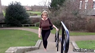Unfaithful British Mature Gill Ellis Showcases Her Heav