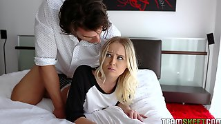 Sex-starved Blonde Natalia Queen Is Fucked And Fed With Sperm By Hot Blooded Stepbrother
